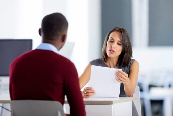 Be responsive in job interviews.