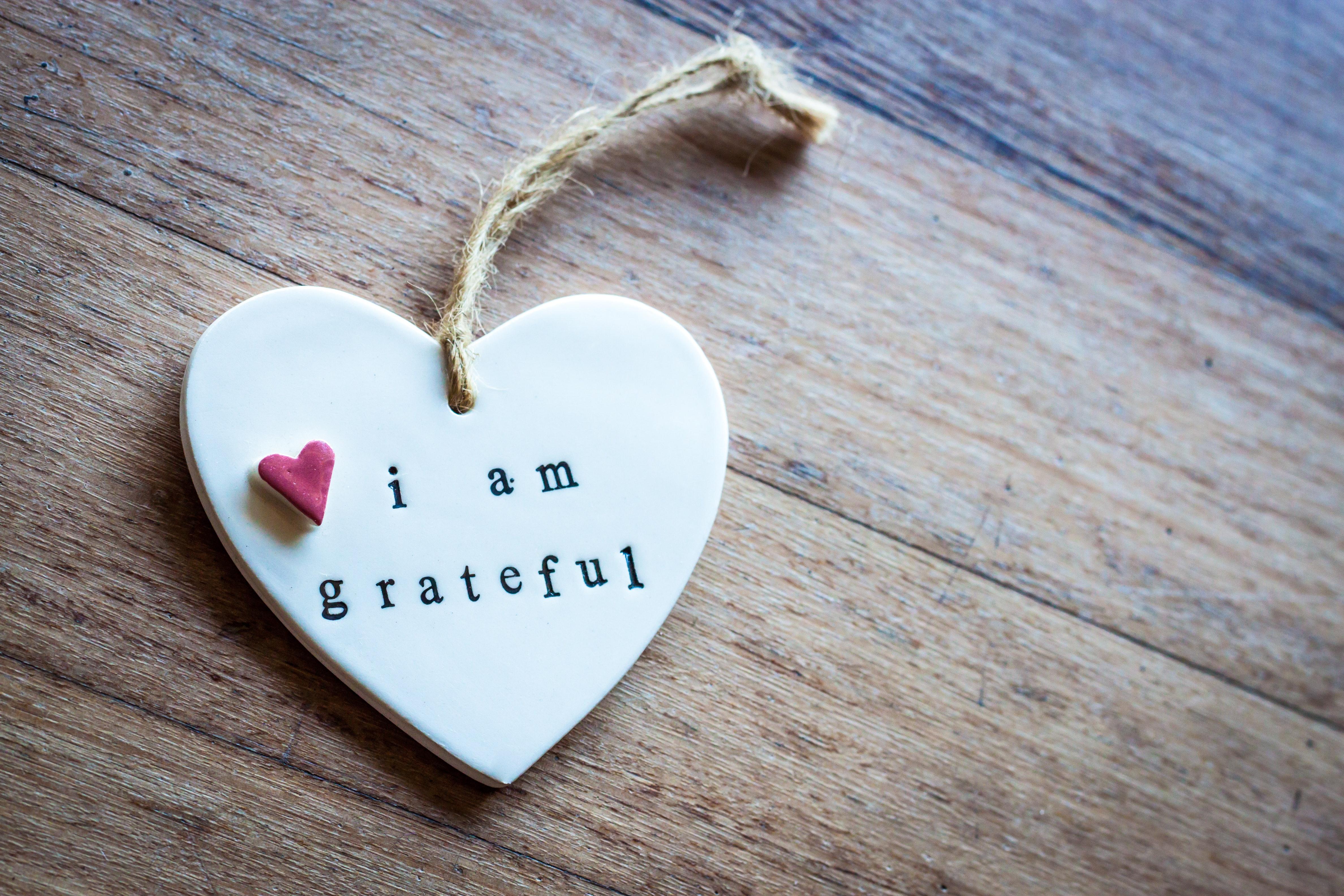 affection appreciation grateful