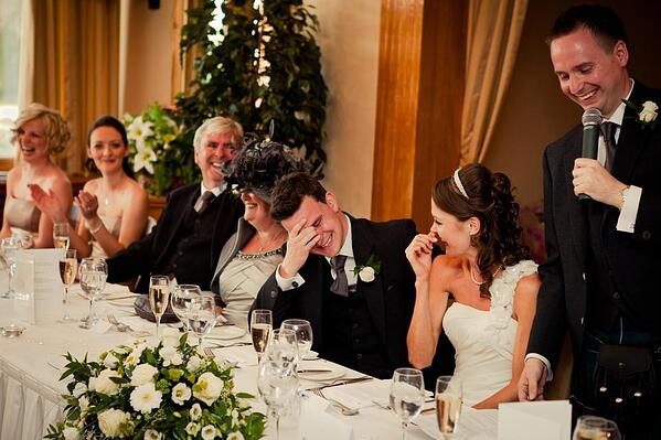 How to deliver the perfect wedding speech